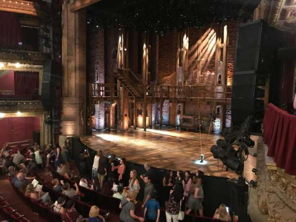 CIBC Theatre, secção: Dress Circle Box 2, fila: BX2, lugar: 202, 204