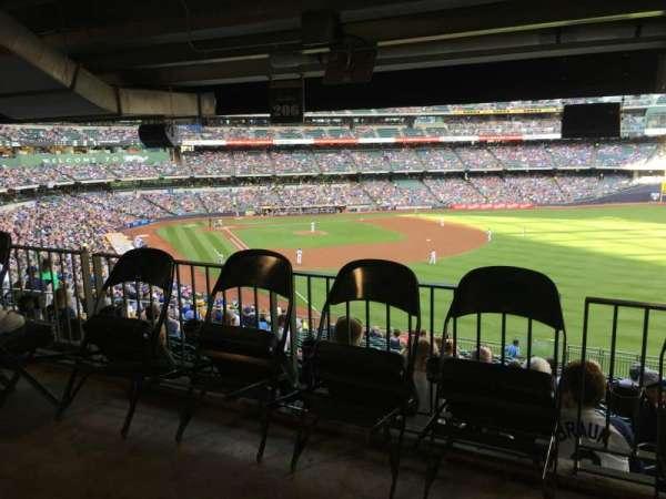 Miller Park, secção: 206, fila: Standing Room, lugar: Standing Room
