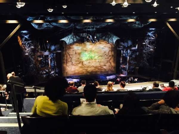 Gershwin Theatre, secção: Rear Mezzanine C, fila: K, lugar: 101