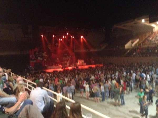 Knoxville Civic Coliseum, secção: CC, fila: C, lugar: 9