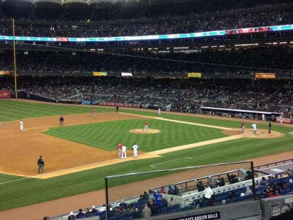 Yankee Stadium, secção: 227b, fila: 3, lugar: 2