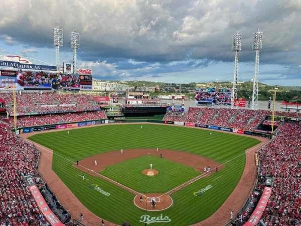 Great American Ball Park, secção: 523, fila: C, lugar: 6