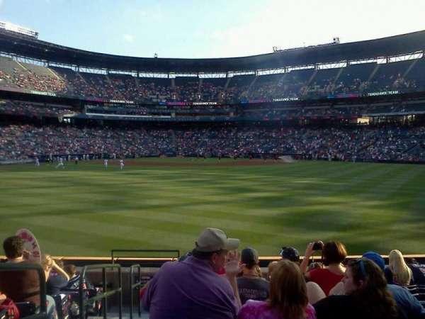 Turner Field, secção: 121, fila: 21, lugar: 1