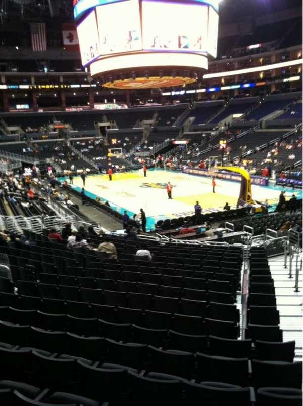 Staples Center, secção: 108, fila: 20, lugar: 1