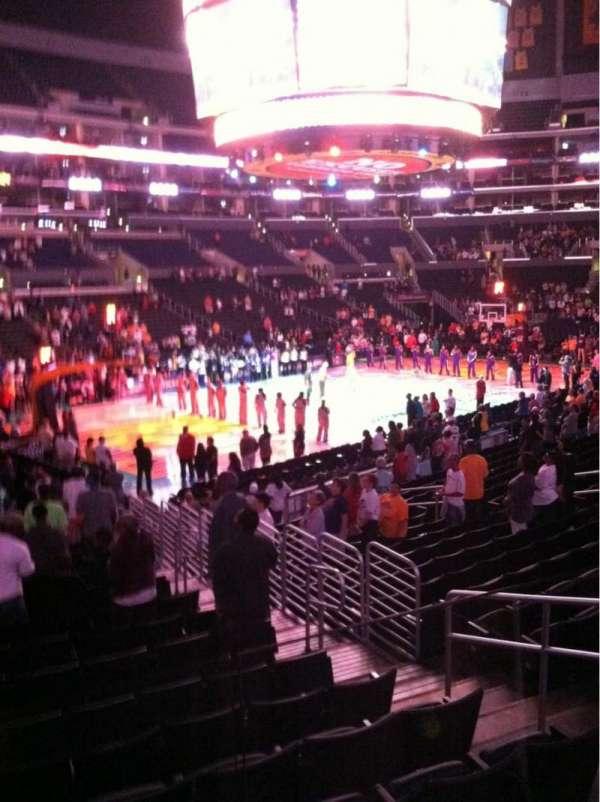 Staples Center, secção: 114, fila: 18, lugar: 3