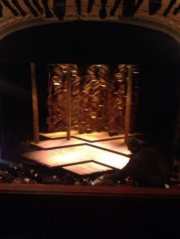 Bernard B. Jacobs Theatre, secção: Mezzanine C, fila: E, lugar: 103