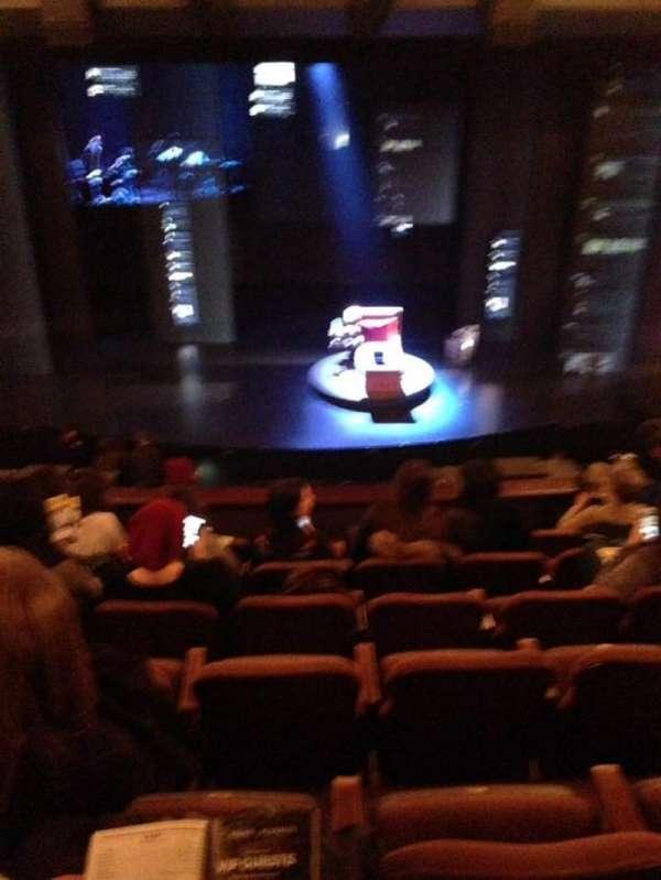 Music Box Theatre, secção: Mezzanine C, fila: G, lugar: 107