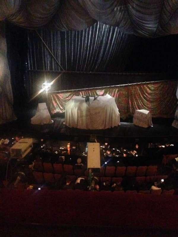 Majestic Theatre, secção: Front Mezzanine C, fila: A, lugar: 107