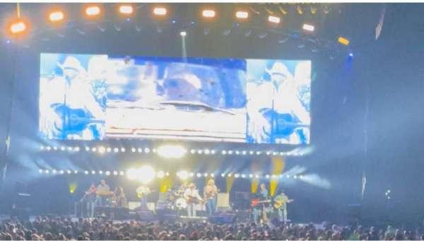Bridgestone Arena, secção: 120, fila: KK, lugar: 11