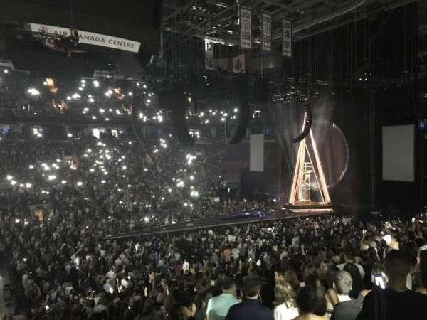 Scotiabank Arena, secção: 119, fila: 24, lugar: 25
