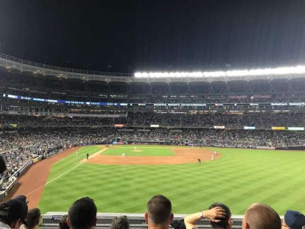 Yankee Stadium, secção: 205, fila: 5, lugar: 15