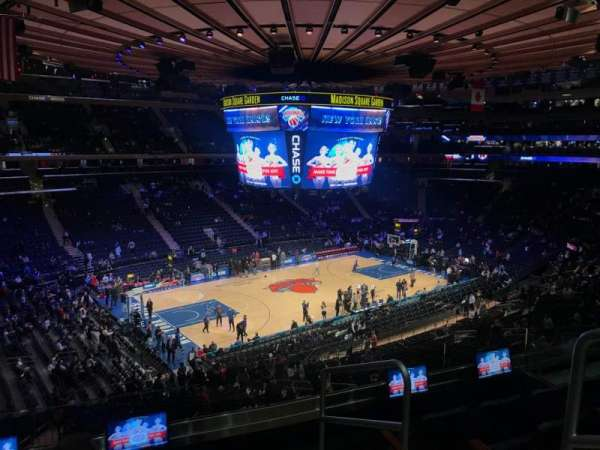 Madison Square Garden, secção: 221, fila: 5, lugar: 20