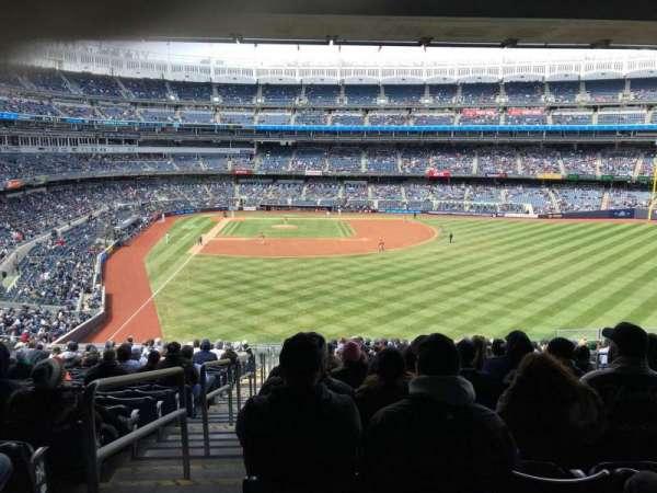 Yankee Stadium, secção: 205, fila: 18, lugar: 1