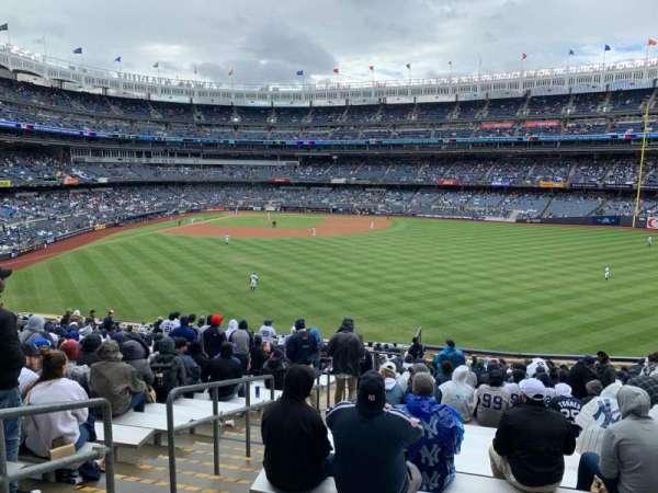 Yankee Stadium, secção: 202, fila: 24, lugar: 38