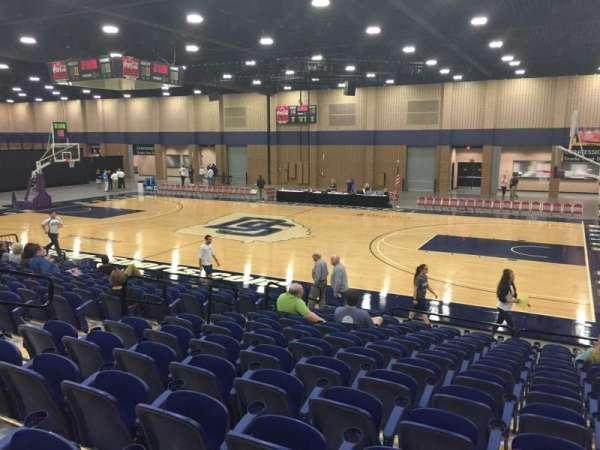 Mashburn Arena, secção: 5, fila: NN, lugar: 6