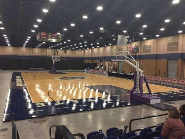 Mashburn Arena, secção: 3, fila: FF, lugar: 1
