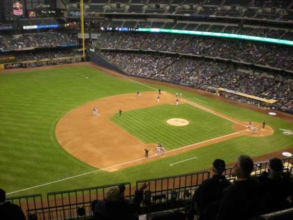 American Family Field, secção: 432, fila: 17, lugar: 1