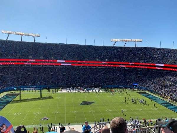 Bank of America Stadium, secção: 516, fila: 6, lugar: 5
