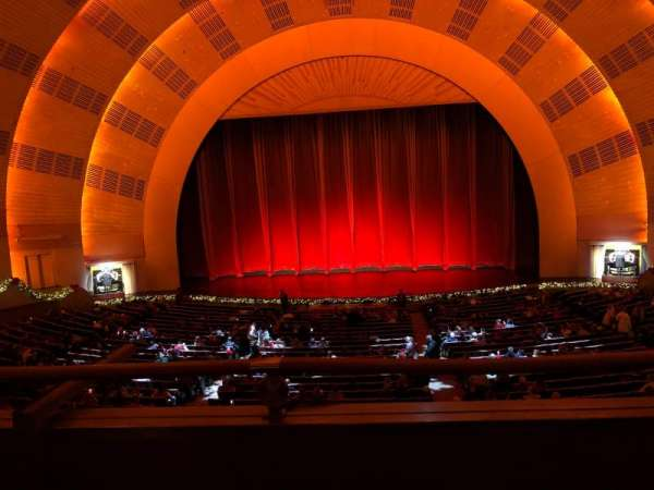 Radio City Music Hall, secção: 1st Mezzanine 4, fila: B, lugar: 403