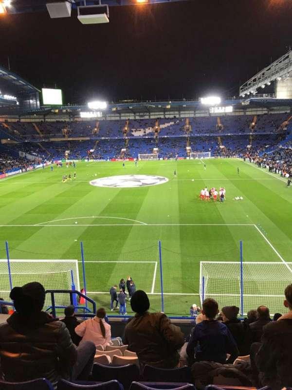Stamford Bridge, secção: Shed End Upper 3, fila: 13, lugar: 122