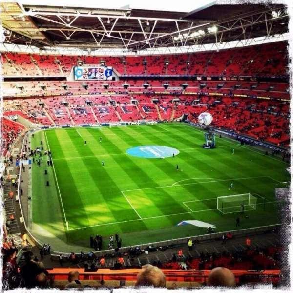 Wembley Stadium, secção: 542, fila: 10, lugar: 83