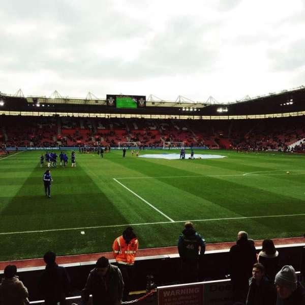 St Mary's Stadium, secção: 45, fila: H, lugar: 1167