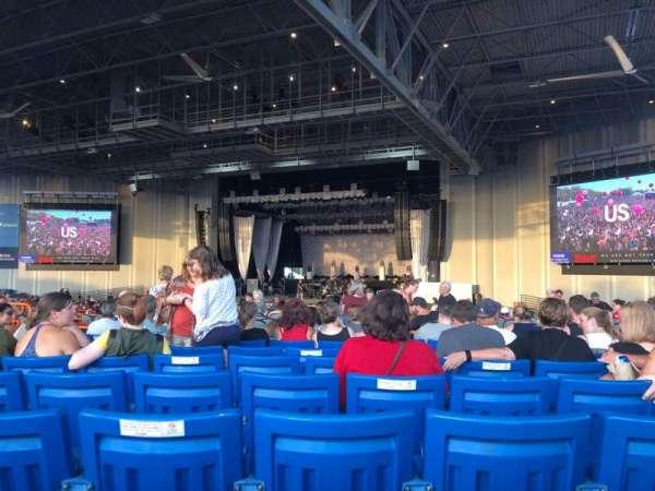PNC Music Pavilion, secção: 5, fila: Q, lugar: 33
