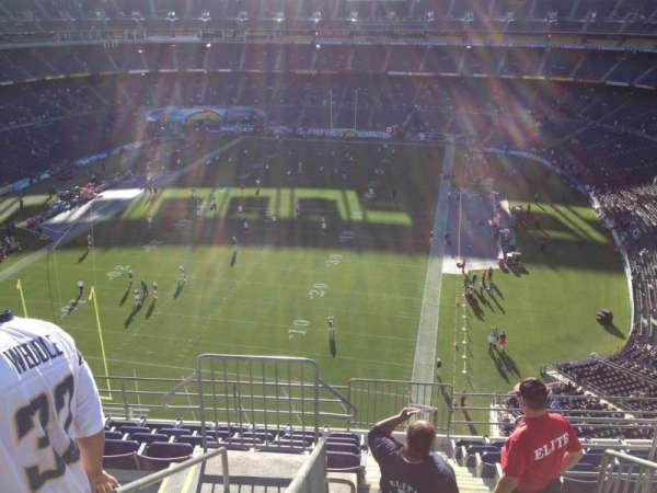 San Diego Stadium, secção: V54, fila: 10, lugar: 14