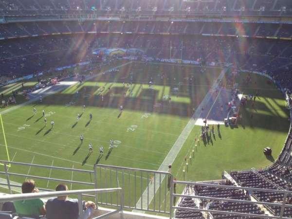 San Diego Stadium, secção: V55, fila: 9, lugar: 1
