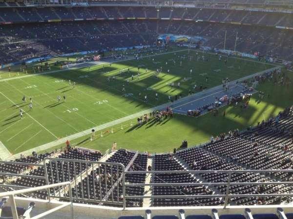San Diego Stadium, secção: V60, fila: 6, lugar: 6