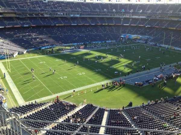 San Diego Stadium, secção: V60, fila: 6, lugar: 10