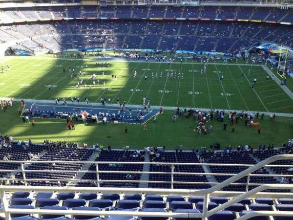 San Diego Stadium, secção: V8, fila: 6, lugar: 19