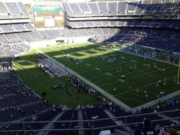 San Diego Stadium, secção: V15, fila: 5, lugar: 6