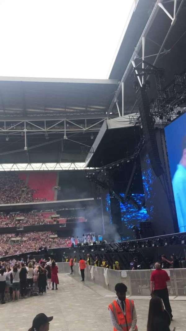 Wembley Stadium, secção: 141, fila: 4, lugar: 226
