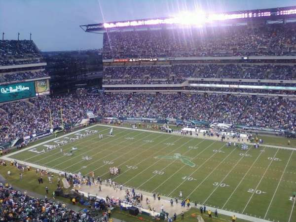 Lincoln Financial Field, secção: 228, fila: 9, lugar: 15