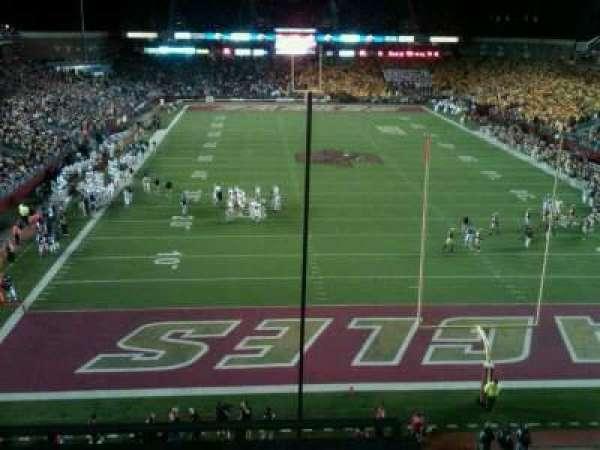 Alumni Stadium, secção: kk
