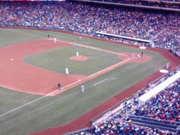 Citizens Bank Park, secção: 431, fila: 1