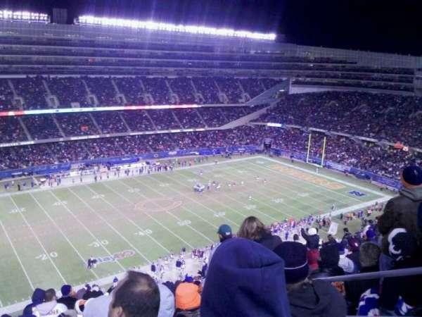 Soldier Field, secção: 441, fila: 20, lugar: 20