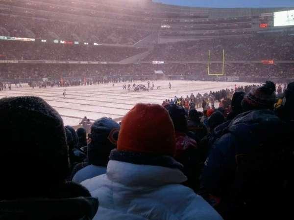 Soldier Field, secção: 144, fila: 15, lugar: 11