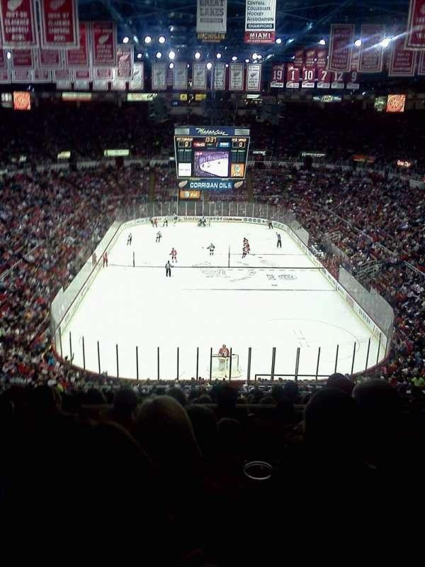 Joe Louis Arena, secção: 201, fila: 19, lugar: 5