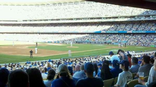 Dodger Stadium, secção: 35FD, fila: W, lugar: 5