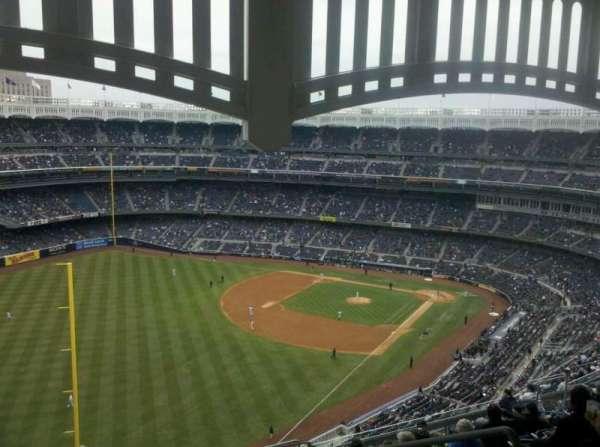 Yankee Stadium, secção: 432a, fila: 14, lugar: 5