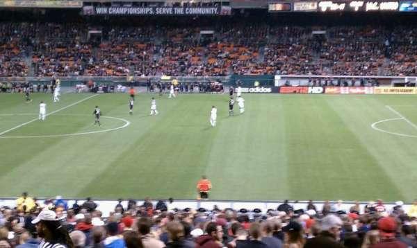 RFK Stadium, secção: 331, fila: 11, lugar: 10