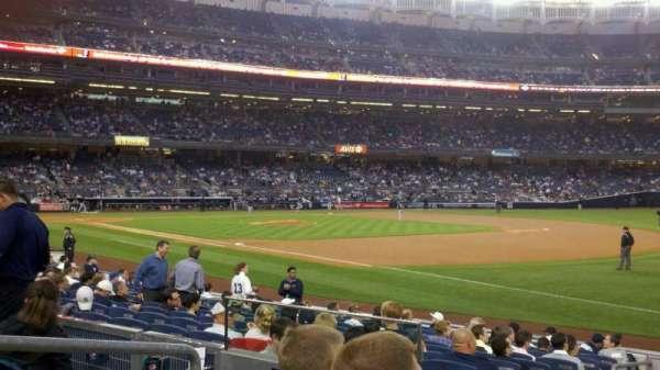 Yankee Stadium, secção: 112, fila: 15, lugar: 13