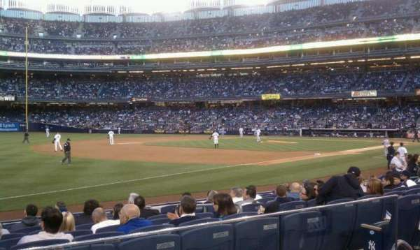 Yankee Stadium, secção: 128, fila: 12, lugar: 8