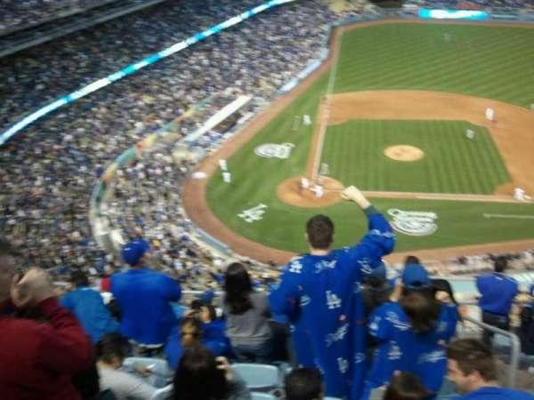 Dodger Stadium, secção: upper deck, fila: 10, lugar: 234