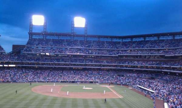 Citizens Bank Park, secção: 242, fila: 7, lugar: 12