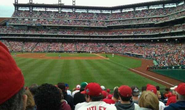 Citizens Bank Park, secção: 142, fila: 12, lugar: 12