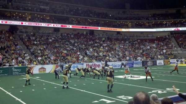 Wells Fargo Arena, secção: 118, fila: e, lugar: 2