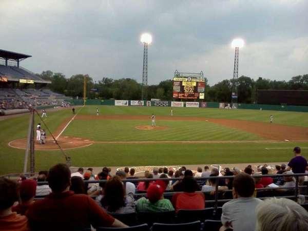 NBT Bank Stadium, secção: 205, fila: 6, lugar: 18